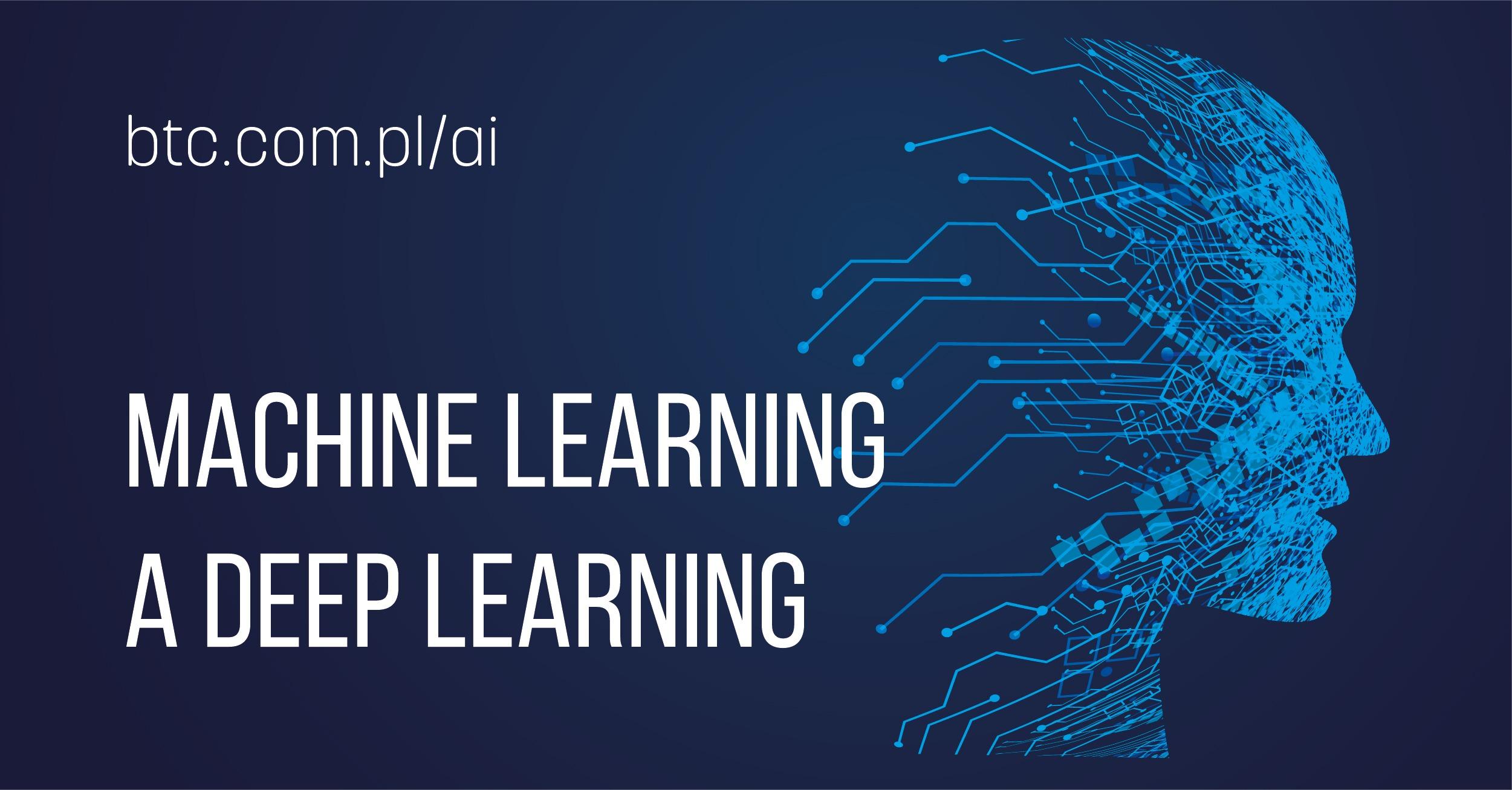 BTC AI Machine learning a deep learning
